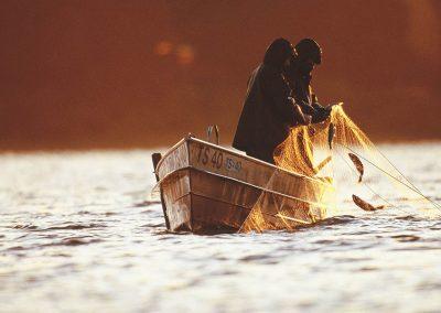 Bild von Fischern auf einem Boot