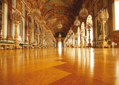 Bild von einem Saal im Schloss