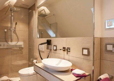 Badezimmer von einem Doppelzimmer