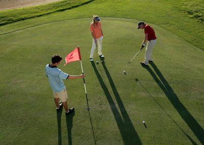 Bild von Golfern