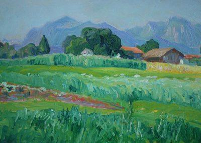 Bild von einem Gemälde