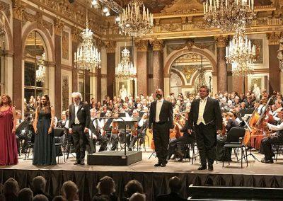 Bild von einem Orchester