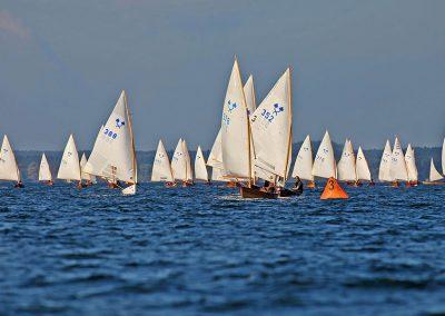 Bild von vielen Segelbooten